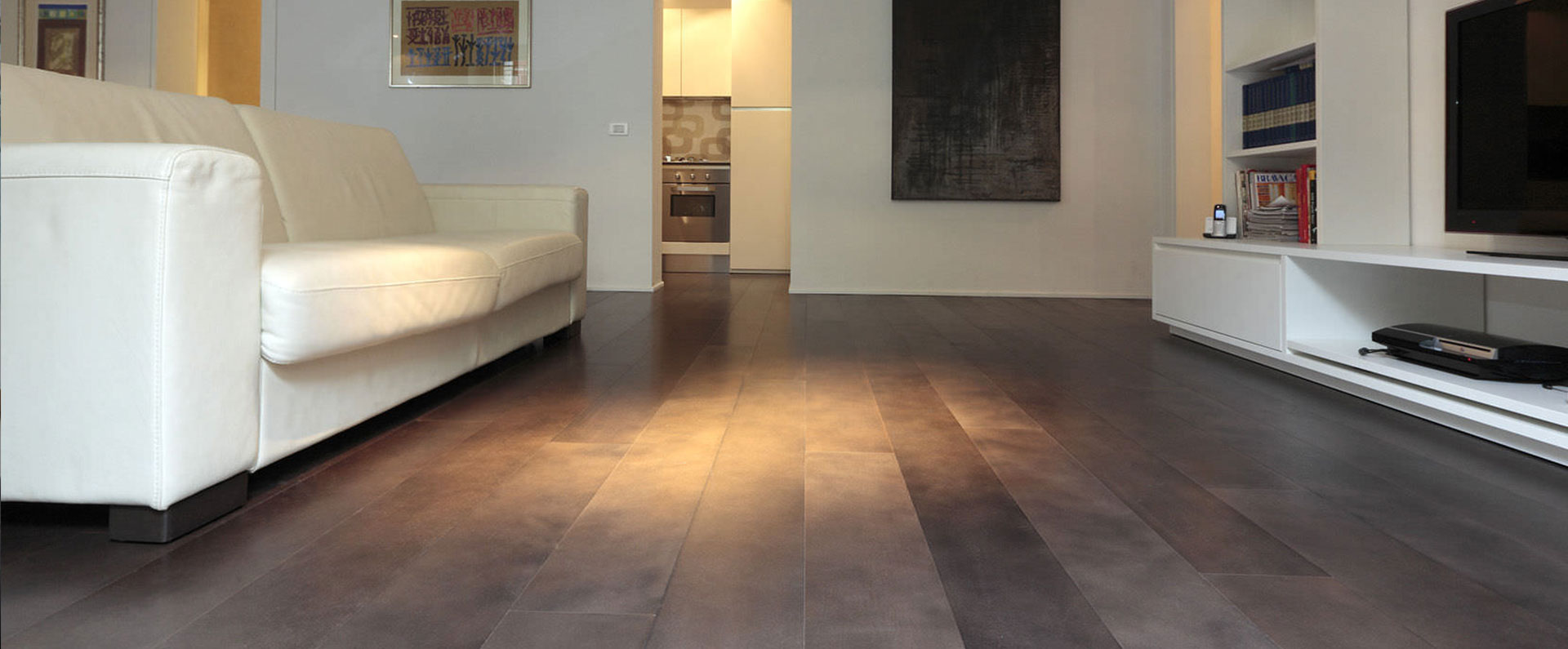 Parquet massif luxury